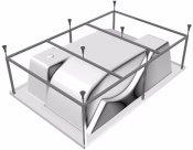 Vayer Каркас для ванны Ontario 190x125