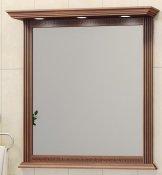 Opadiris Зеркало для ванной Корлеоне 80 орех с патиной