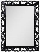 """Demax Зеркало для ванной """"Престиж NEW 75"""" черное"""