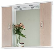 Водолей Зеркальный шкаф Колумбия 95 дуб