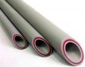 ФД Пласт Труба PPR PN 20 Дн-50 х 8,4 мм стекловолокно OPTIMUM, серая