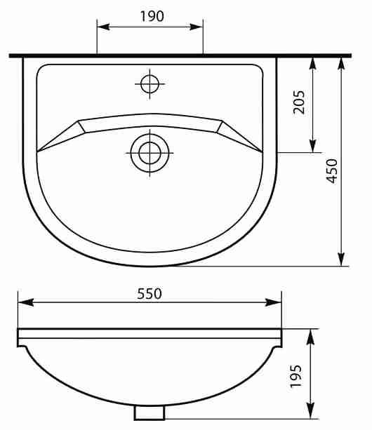 СанТа Мебель для ванной Уют Герда 55 свет