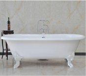 Magliezza Чугунная ванна Patricia 183x80 (ножки белые)