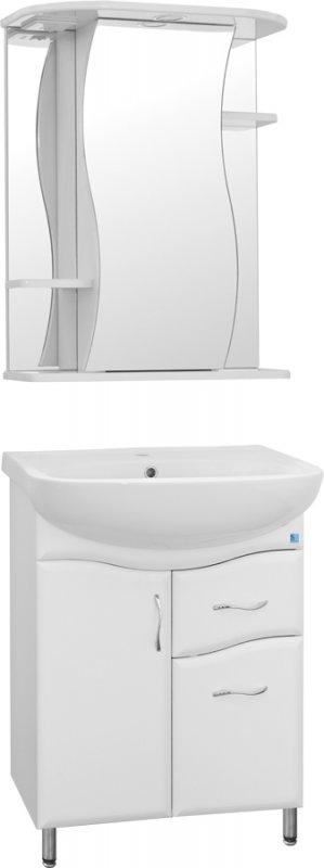 Style Line Мебель для ванной Волна №11 55 лилия