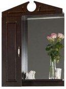 Водолей Зеркальный шкаф Капри 65 L венге