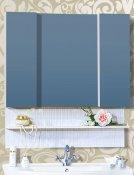 Бриклаер Зеркальный шкаф Карибы 100 светлая лиственница